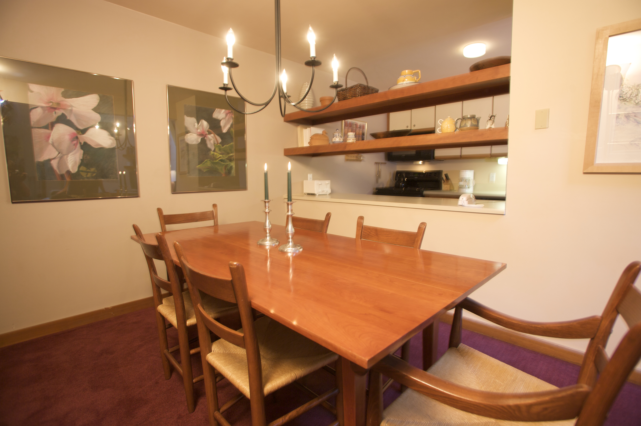 Trail Creek Dining Area (Sample - Varies by Unit)