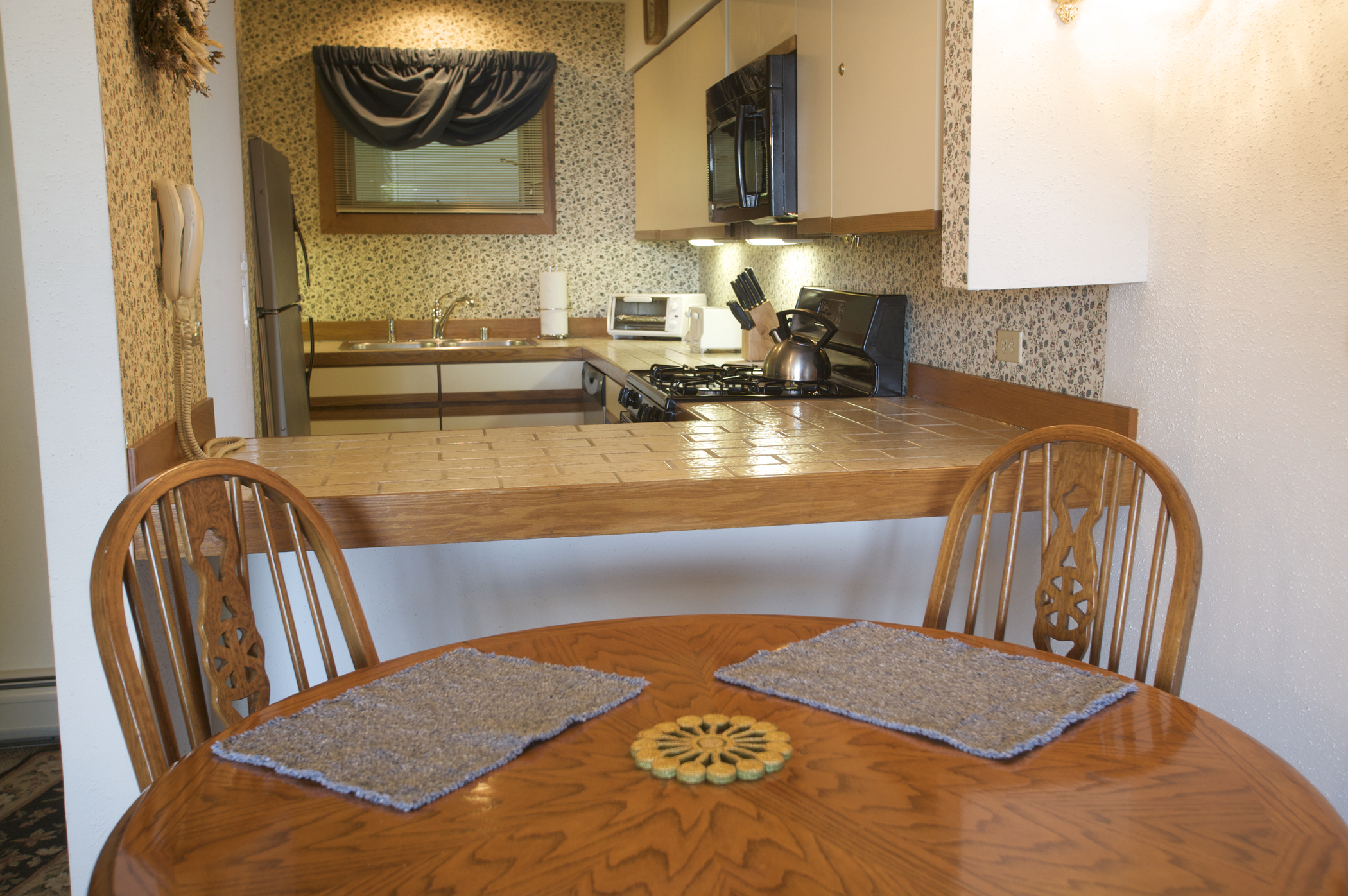 Sunrise Dining Area (Sample - Varies by Unit)