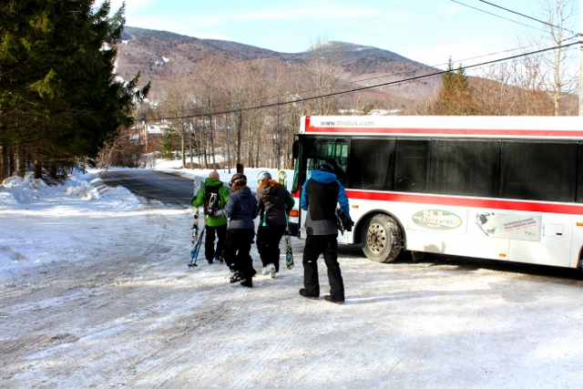 Shuttle to Snowshed