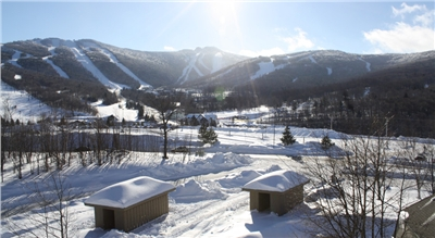 View from the Main Building of Mountain Green Resort
