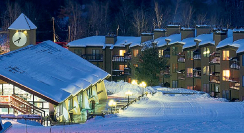 Mountain Lodge winter Exterior
