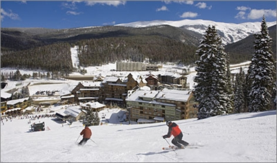 Skiing at Winter Park