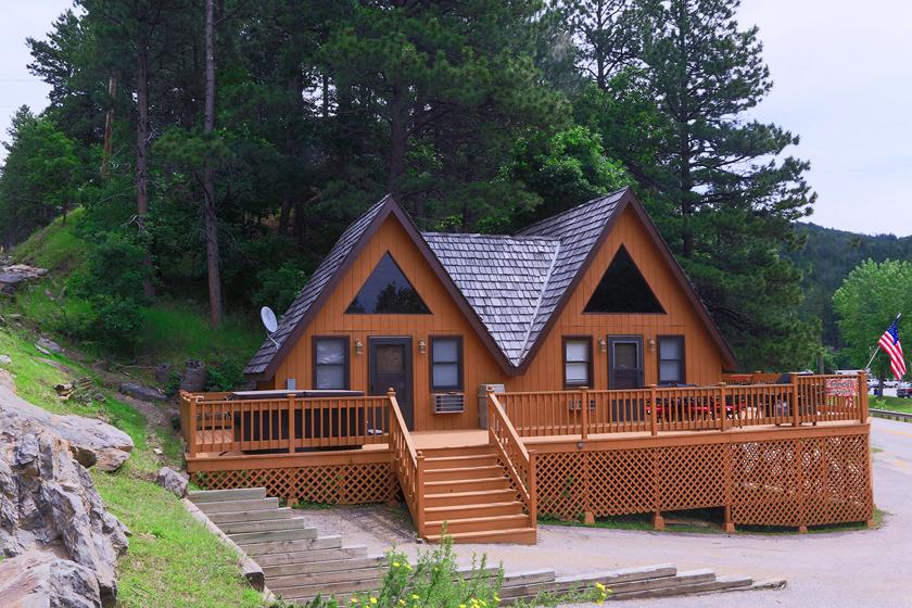 Roosevelt Cabin - Keystone SD
