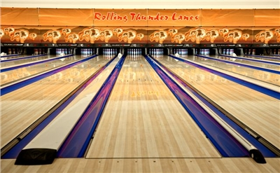 Fantastic 24 Lane Bowling Alley - Fun for the whole family!