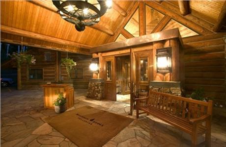 Mountain Lodge Entrance