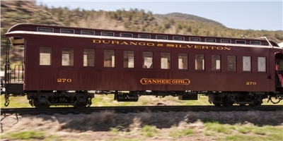The Yankee Girl Train Car