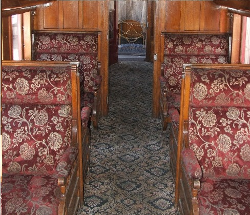 Wide Booth Style Seats Available in the Pullman Section