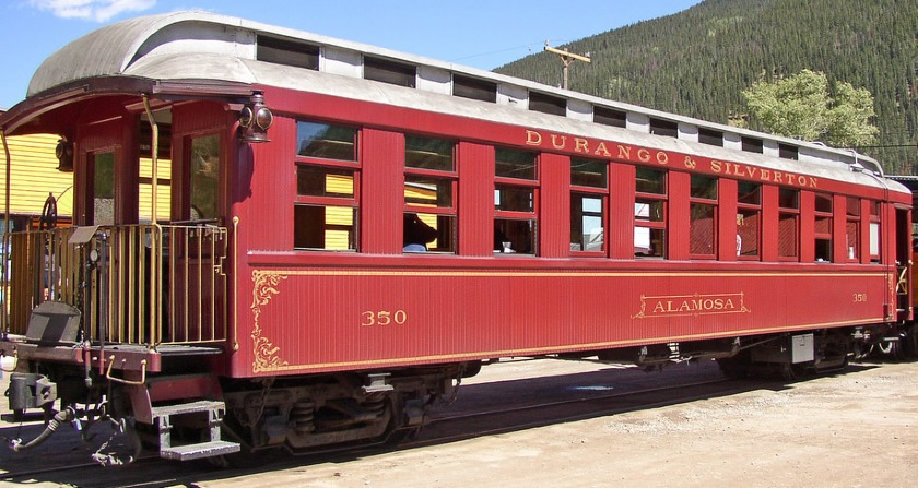 Outside- Alamosa Parlor Car