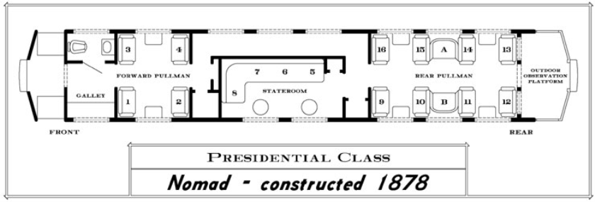 Seating Chart- Nomad Car