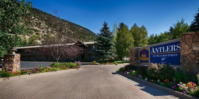 Best Western Antlers ~ Glenwood Springs, Colorado