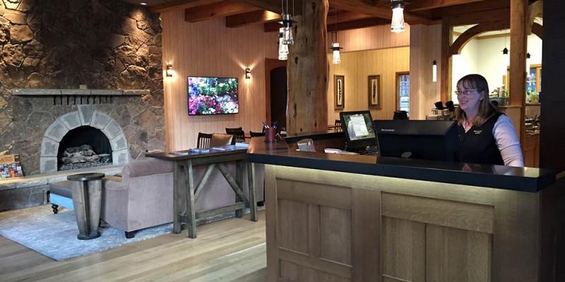 Front Desk ~ Hotel Lobby