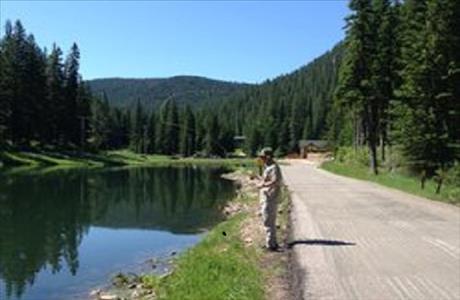 Deadwood Springs Fly Fishing Hanna Pond - Lead SD