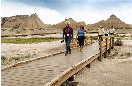 Badlands National Park Fossil Trail - Badlands SD
