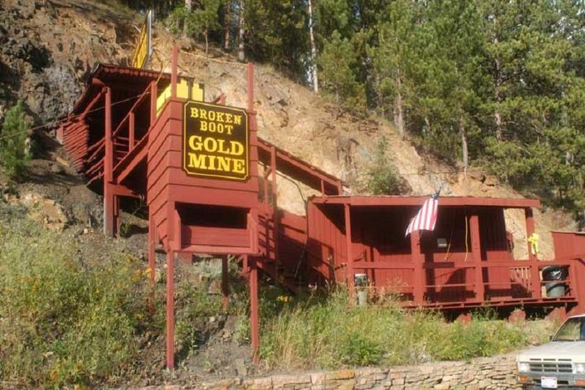 Broken Boot Gold Mine - Deadwood SD