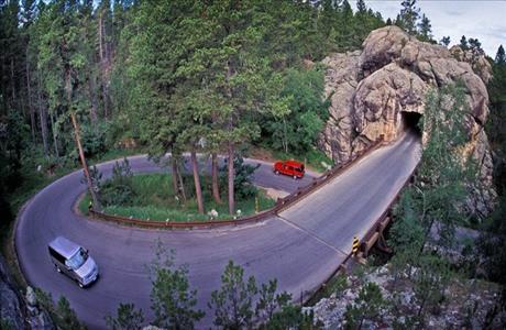 Custer State Park Pig Tail Bridges
