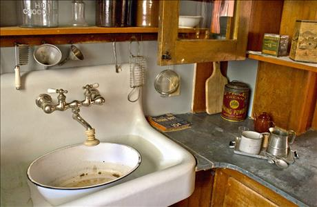 Historic Adams House Kitchen Pantry - Deadwood SD