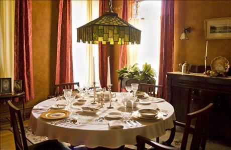 Historic Adams House Dining Room - Deadwood SD