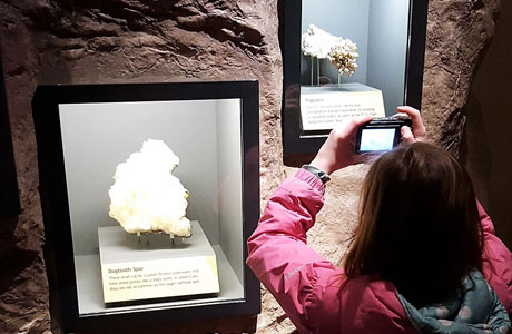 Jewel Cave displays award winning exhibits that engage all ages and help visitor