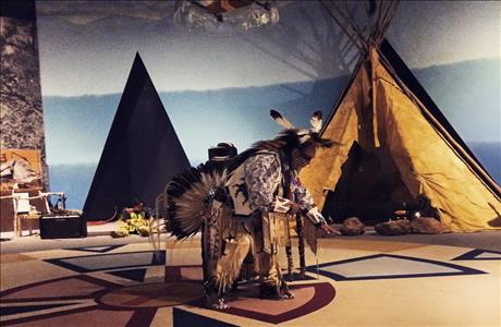 The Journey Museum Native American Display - Rapid City SD