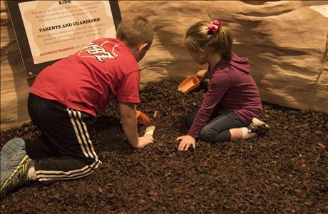 The Journey Museum and Learning Center Digging Pit - Rapid City SD