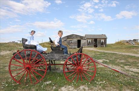 Prairie Homestead Sod House - Philip SD