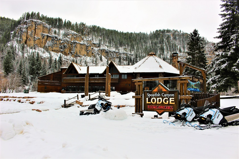 Spearfish Canyon Snowmobile Rentals - Spearfish SD