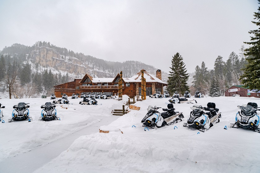 Spearfish Canyon Snowmobile Rentals - Lead, SD