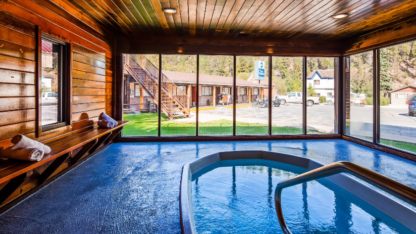 Indoor Pool at Hickok House, Deadwood, SD
