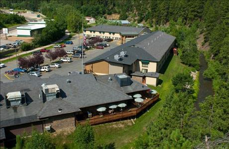 Deadwood Gulch Gaming Resort Aerial View - Deadwood SD