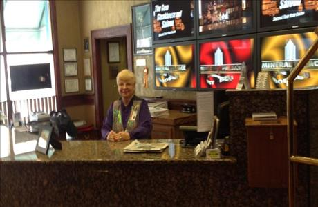 Mineral Palace Hotel and Casino Front Desk - Deadwood SD