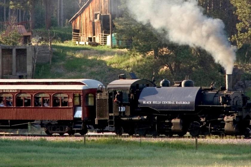 1880 Train - Hill City SD