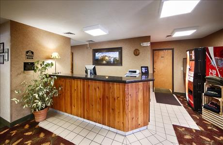 Best Western Black Hills Lodge Front Desk - Spearfish SD