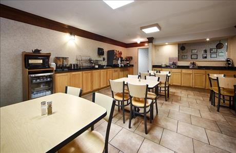 Best Western Black Hills Lodge Breakfast Area - Spearfish SD