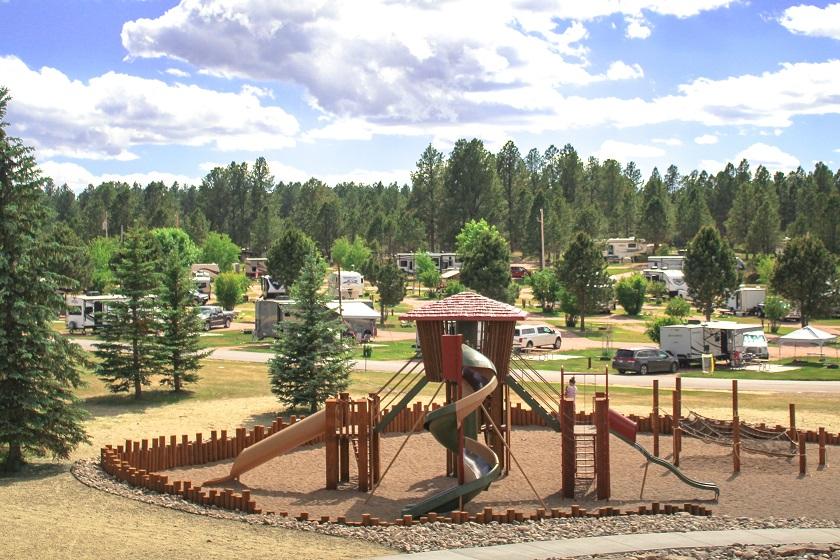 Buffalo Ridge Camp Resort Playground - Custer SD