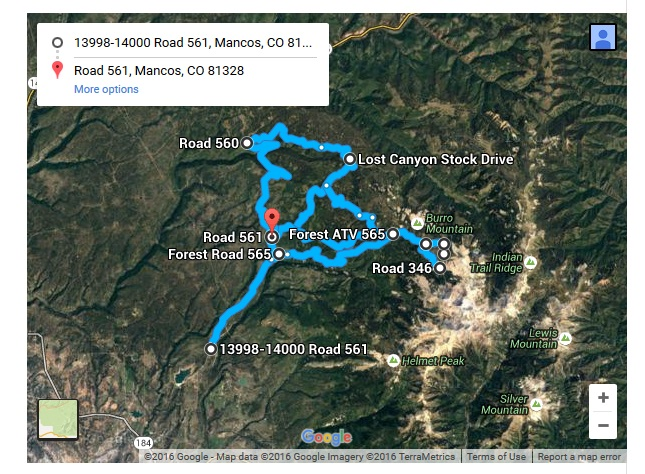 Mancos ~ Full Day Recommend Route ~ Aspen and Sharks Tooth Loop