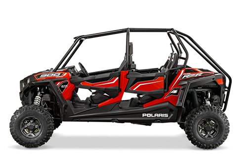 Front and rear Dual A-Arm suspension for the ultimate in trail performance