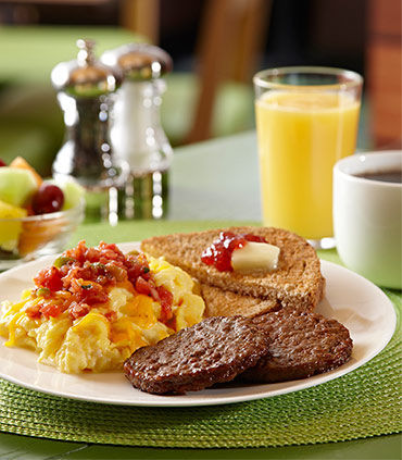 Hot Breakfast included in your Stay