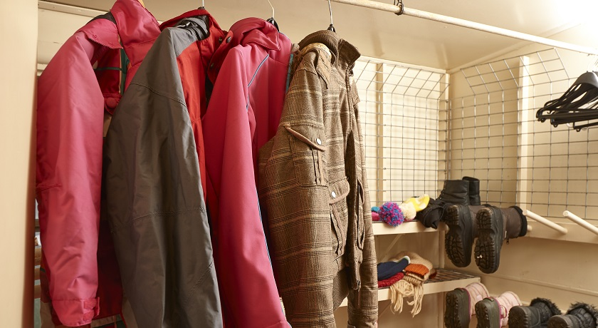 Our drying room is perfect for starting your day warm and dry