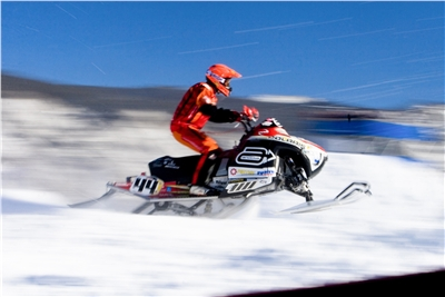 Snowmobiling in Colorado's High Country