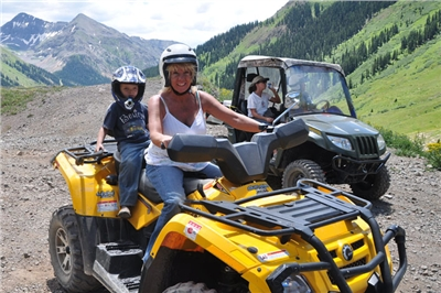 Double Riders for beautiful high country ATV tour