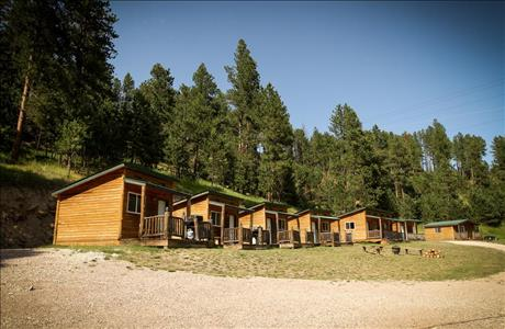 Cole Cabins Camping Cabins - Deadwood SD
