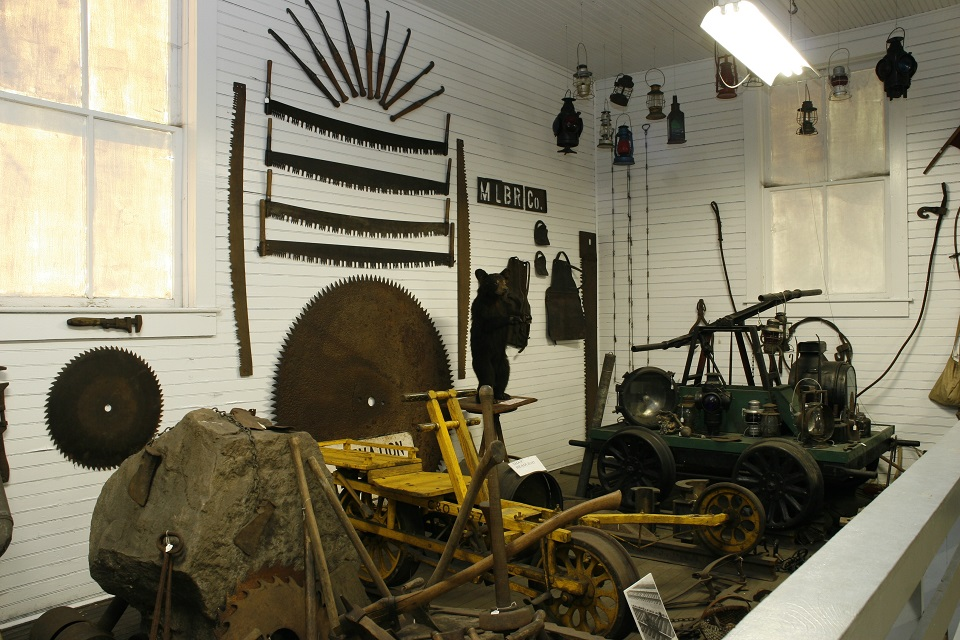 A peek inside the museum