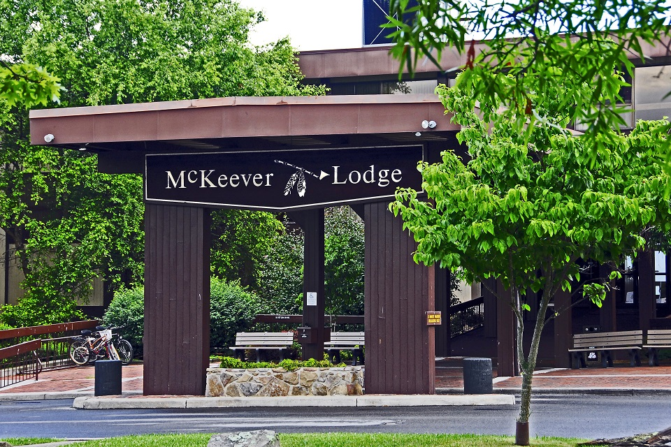 McKeever Lodge entrance