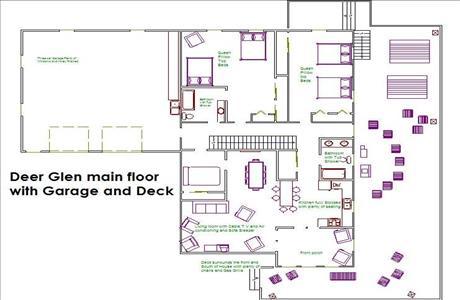 Lake Park Deer Glen Lodge Main Floor - Rapid City SD