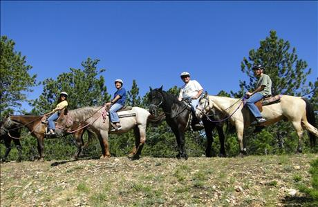 Blacktail Horseback Tours - Central City SD