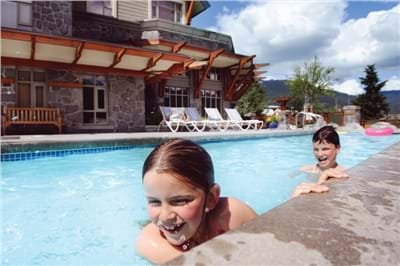 Salt Water Lap Pool and Two Hot Tubs