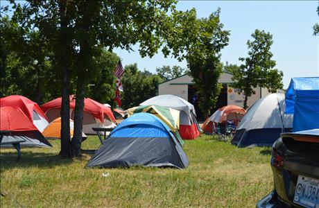Days End Campground Tent Camping - Sturgis SD