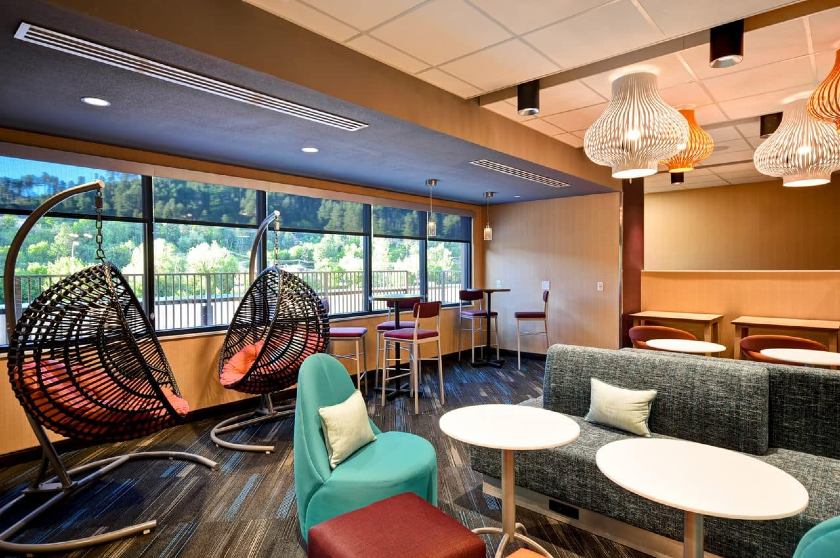 Lobby and Lounge |Tru by Hilton at Cadillac Jacks, Deadwood, SD