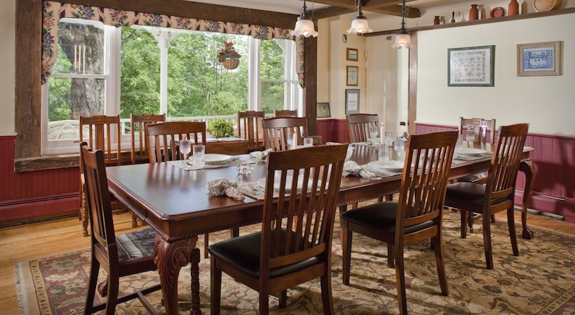 Dining Room at West Hill House B&B
