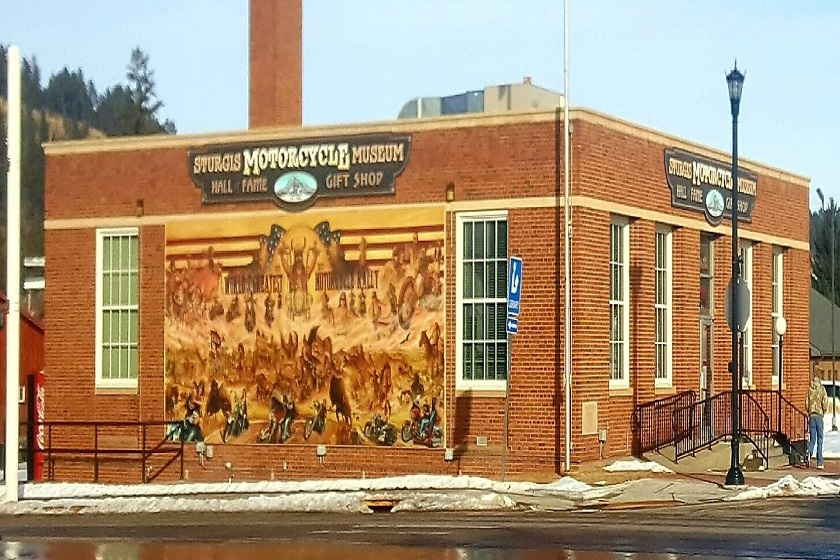 Sturgis Motorcycle Museum And Hall Of Fame Legendary Sturgis Main Street 57785